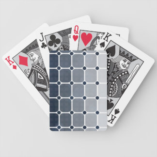 Urban Chic Gradient Playing Cards - Prussian Blue