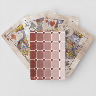 Urban Chic Gradient Playing Cards - Rust