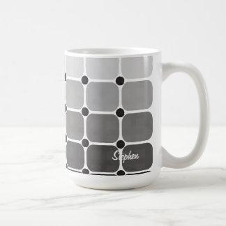 Urban Chic Personalized Mug - Charcoal