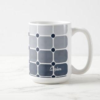 Urban Chic Personalized Mug - Prussian Blue