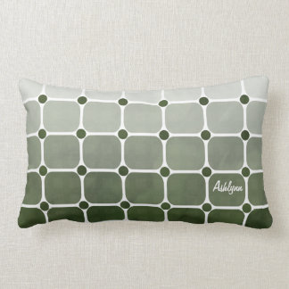 Urban Chic Throw Pillow - Forest Green