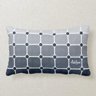 Urban Chic Throw Pillow - Prussian Blue