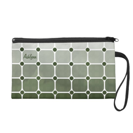 Urban Chic Wristlet - Forest Green