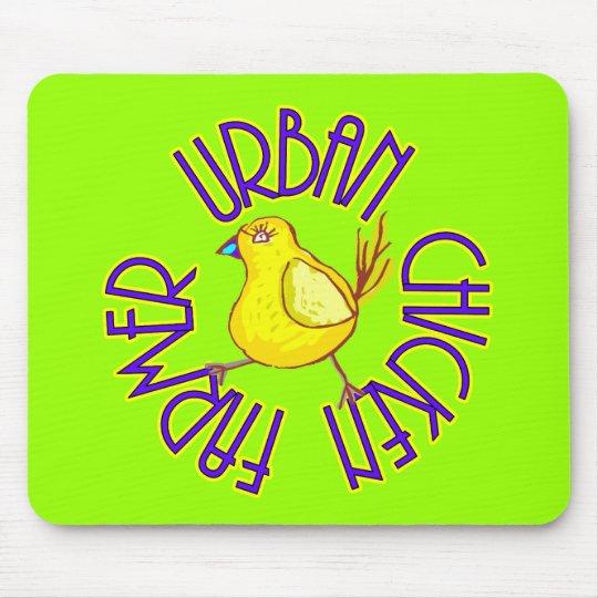 Urban Chicken Farmer Mouse Pad