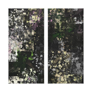 Urban City ..abstract Gallery Wrapped Canvas