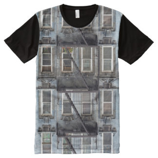 Urban City Building All-Over Print T-shirt