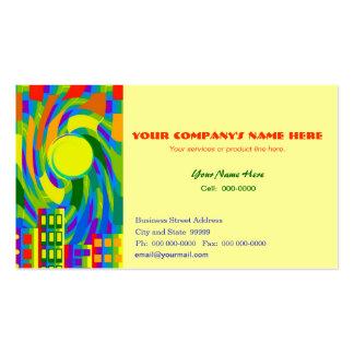 Urban City Folk Art Business Card Template