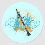 Urban Clarinet Stickers
