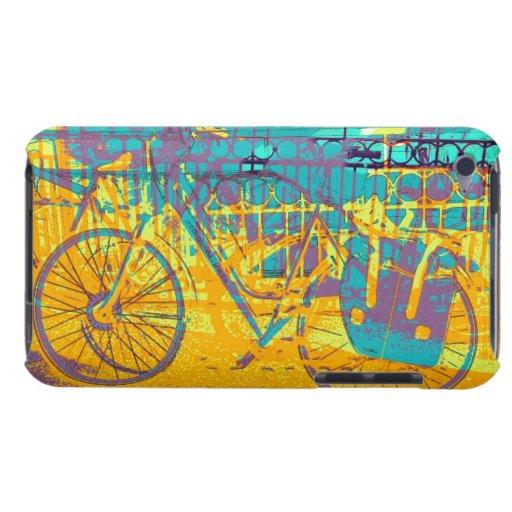 Urban colorful bike collage iPod Case-Mate cases