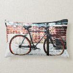 urban colorful bike collage - throw pillows