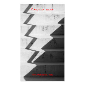 Urban Concrete stairs Business Card template