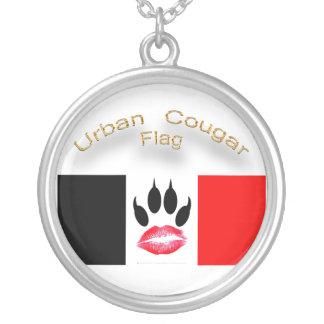 Urban Cougar Flag Necklace