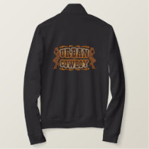 Urban Cowboy Embroidered Jacket
