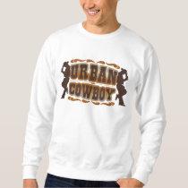 Urban Cowboy Embroidered Sweatshirt