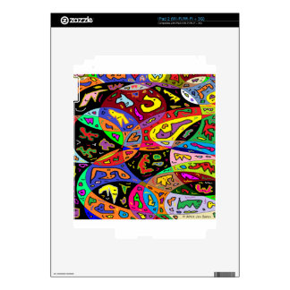 Urban Critters Decal For iPad 2