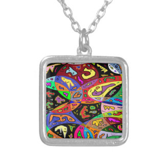 Urban Critters Silver Plated Necklace