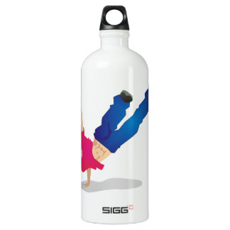 Urban Dance Aluminum Water Bottle