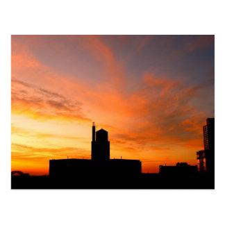 Urban Dawn Postcard