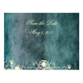 Urban Decay Blue Save the Date Post Card