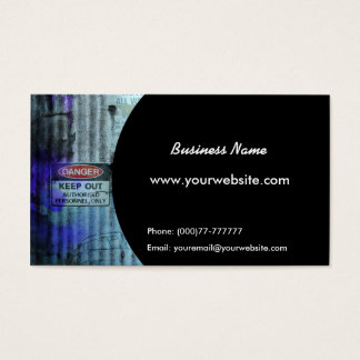 Urban Decay Business Card