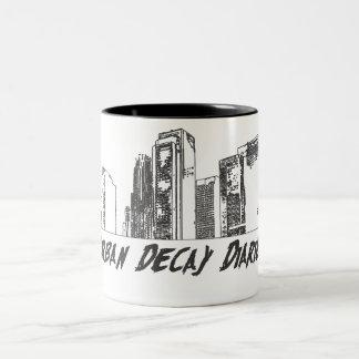 Urban Decay Diaries 2-toned coffee mug