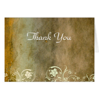 Urban Decay Gold Thank You Card