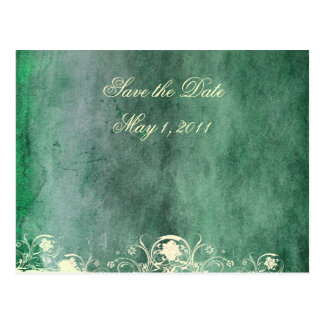 Urban Decay Green Save the Date Postcard