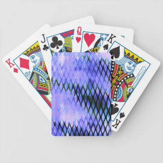 urban decay industrial mesh pattern bicycle card deck