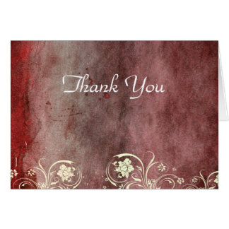 Urban Decay Red Thank You Card
