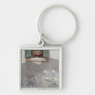 Urban decay Silver-Colored square keychain