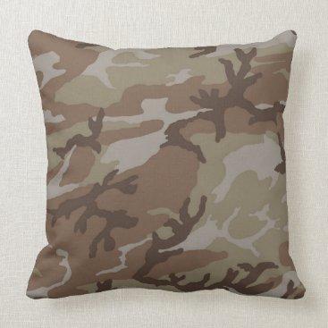 Urban Desert Camo Pillow