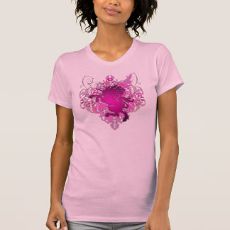 Urban Diamond Fantasy Pink Unicorn T-Shirt