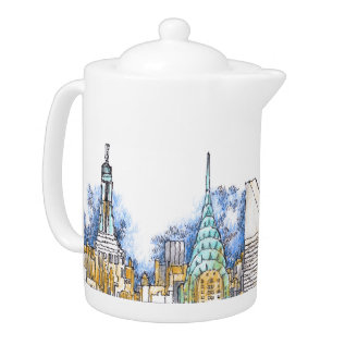 Urban Dish Collection Teapot at Zazzle