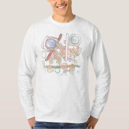 'Urban DNA' Men's Long Sleeved T by Ralph McKnight T-Shirt