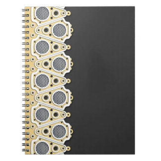 Urban Doily Notebook