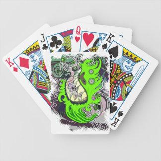 Urban Dragon Bicycle Playing Cards