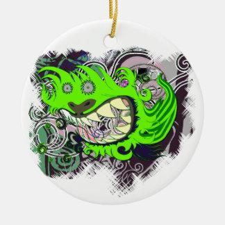 Urban Dragon Ceramic Ornament