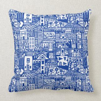 Urban Dream - Navy Blue Pillow