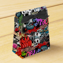 Urban dynamic street art Graffiti art pattern Favor Box