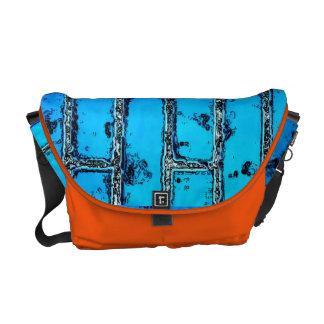 Urban Electric Blue Brick Rickshaw Messenger Bag