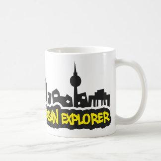 Urban Explorer Classic White Coffee Mug
