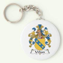 Urban Family Crest Keychain