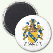 Urban Family Crest Magnet