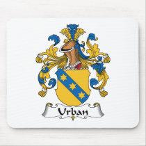 Urban Family Crest Mousepad