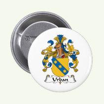 Urban Family Crest Button