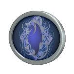 Urban Fantasy Blue Dragon Belt Buckle