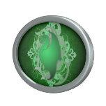Urban Fantasy Green Dragon Belt Buckle
