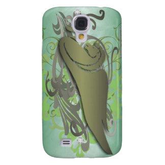 Urban Fantasy Green Jewel Pegasus 3g  Galaxy S4 Case
