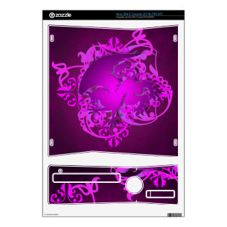 Urban Fantasy Pink Griffin  Xbox Skin Xbox 360 S Console Skins