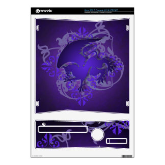 Urban Fantasy Purple Griffin Xbox Skin Xbox 360 S Decals